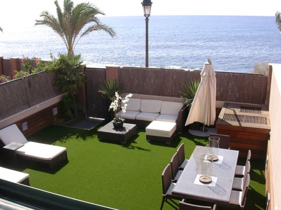 Dise os de terrazas en la azotea perfectas para inspirarte for La azotea de la casa de granada