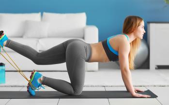 Ejercicios en casa para glúteos y piernas