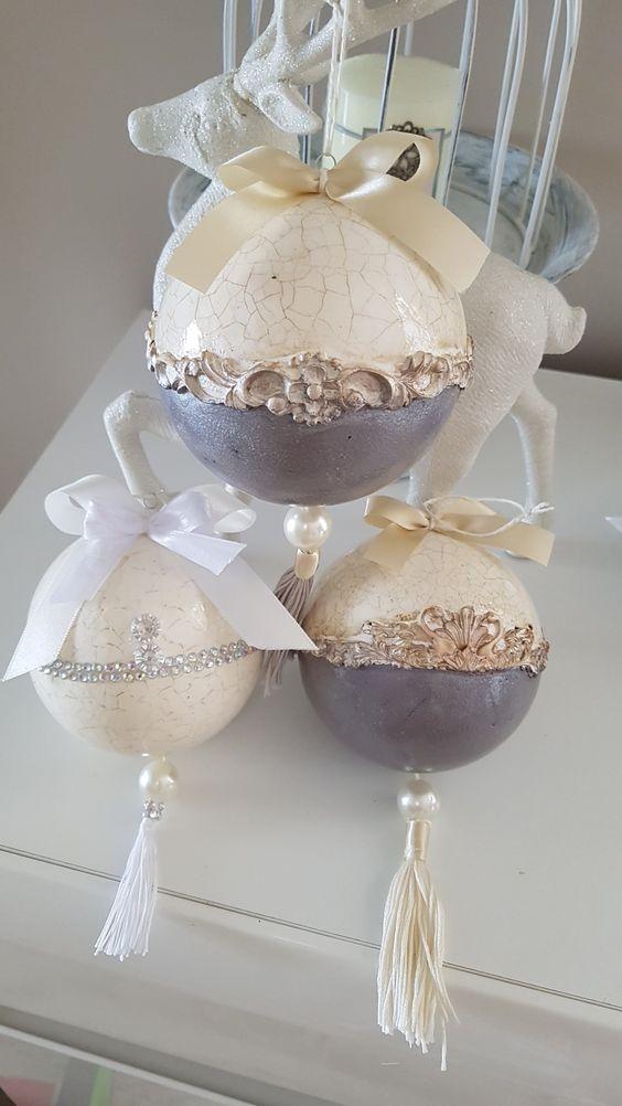 Esferas y mas decoraciones para tu árbol navideño 2019
