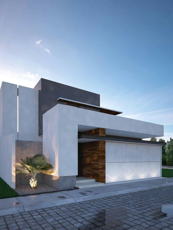 Fachadas de casas modernas for Fachadas de casas modernas 1 piso