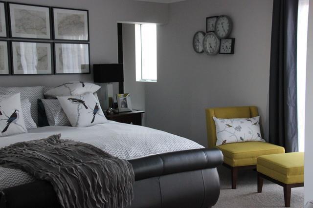Habitaciones decoradas en color gris 13 decoracion de for Decoracion de interiores en gris