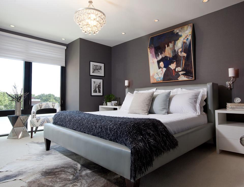 Habitaciones decoradas en color gris 14 decoracion de - Decoracion de interiores habitaciones ...