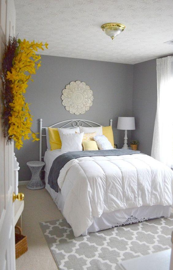 Habitaciones decoradas en color gris 4 decoracion de for Decoracion de interiores habitaciones