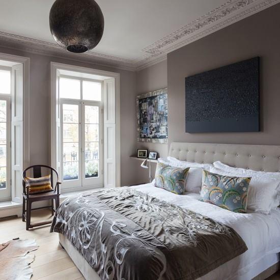 Habitaciones decoradas en color gris 8 decoracion de - Habitaciones color gris ...