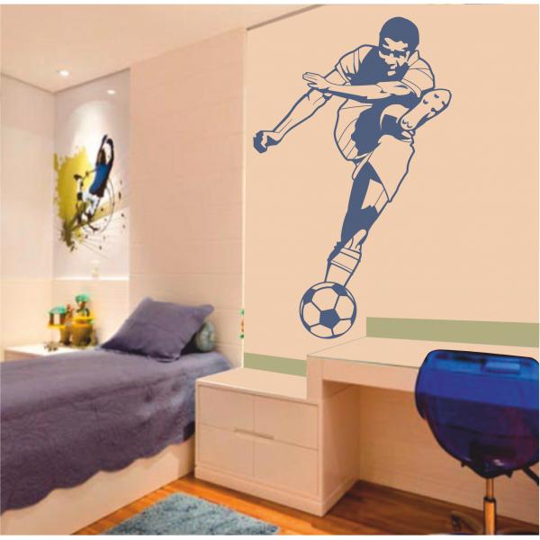 Habitaciones para ni os decoradas con tema de futbol for Vinilos para habitaciones de ninos