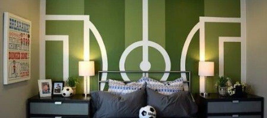 Habitaciones para ni os decoradas con tema de futbol - Habitaciones decoradas para ninos ...