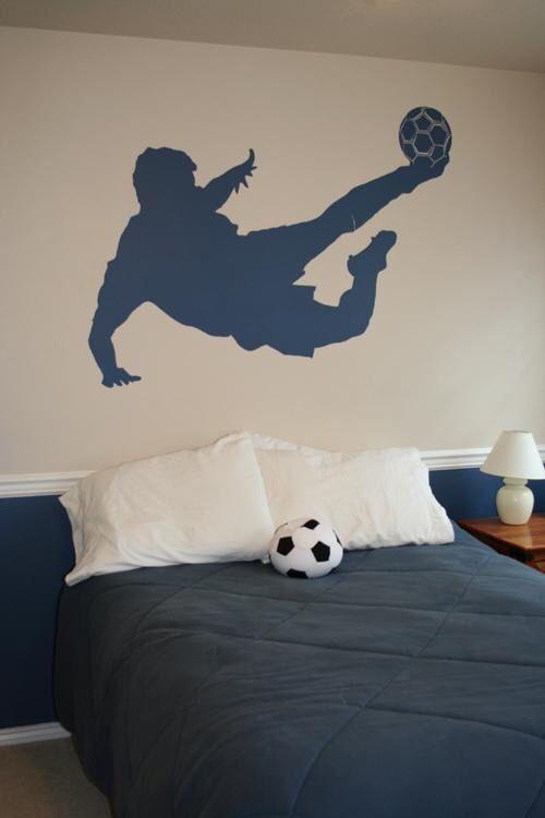 Habitaciones Ninos Decoradas Tema Futbol 23