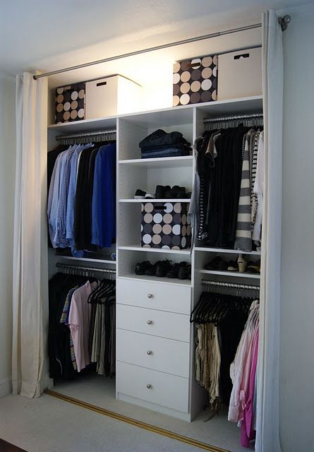 Ideas armarios abiertos 12 curso de organizacion de hogar aprenda a ser organizado en poco - Armarios abiertos ...