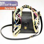 Ideas para decorar una bolsa con mascadas