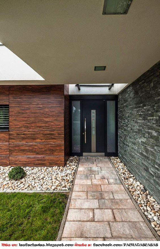 Ideas fabulosas renovar la entrada pasillos casa 17 for Renovar fachadas de casas