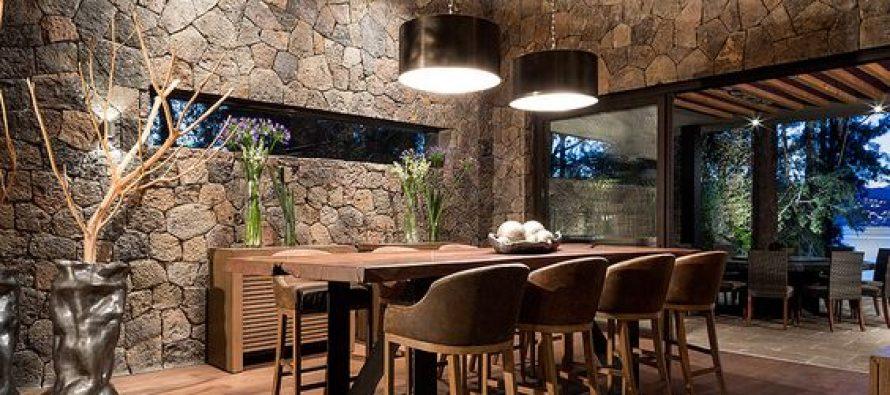 Ideas con piedra para decorar las paredes de tu casa - Decorar paredes con piedra ...