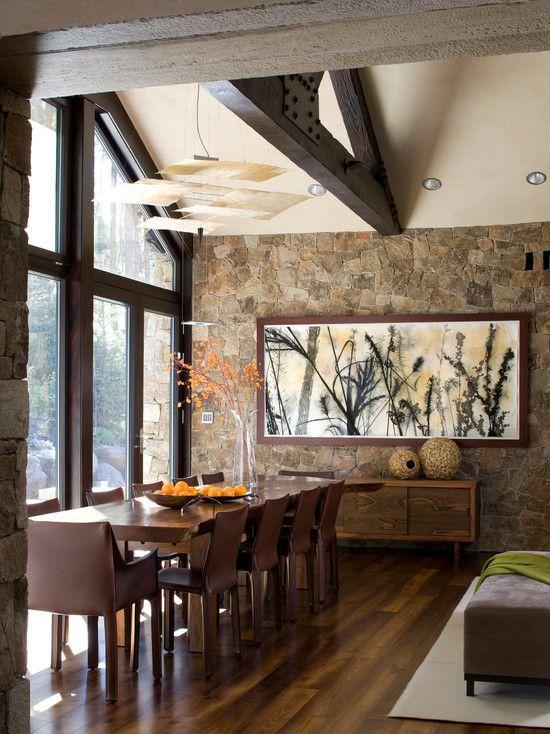 Ideas piedra decorar las paredes casa 14 decoracion de for Ideas para decorar interiores de casas
