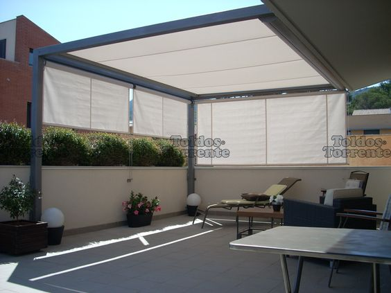 Ideas de techos para una terraza con estilo for Ideas de techos