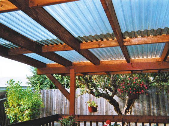 Ideas de techos para una terraza con estilo for Techos de terrazas modernas