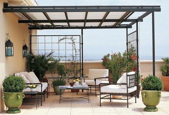 Ideas techos una terraza estilo 14 como organizar la - Ideas para cerrar una terraza ...