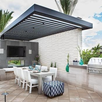 Ideas techos una terraza estilo 17 decoracion de for Techos para patios de casas