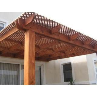 Ideas techos una terraza estilo 21 decoracion de for Estilos de techos