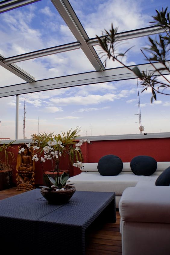 Ideas techos una terraza estilo 26 decoracion de for Ideas de techos para terrazas