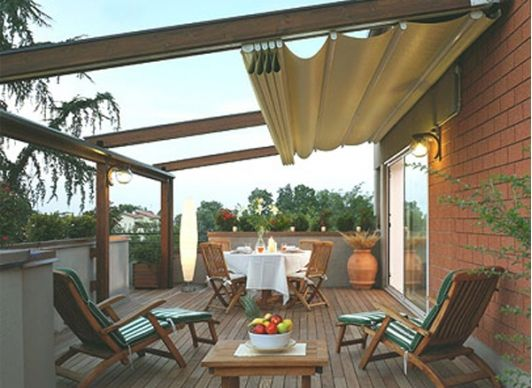 Ideas techos una terraza estilo 27 decoracion de for Ideas de terrazas para casas