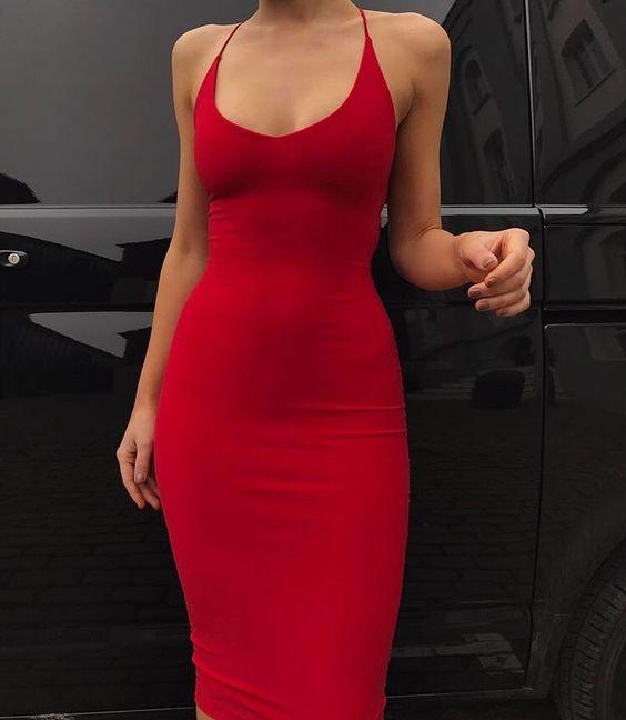 Outfits de moda utilizando el color rojo