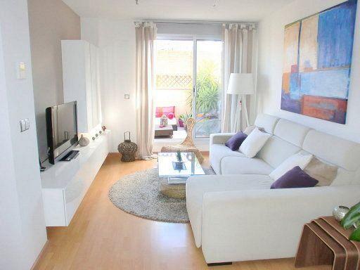 Salas television ideales casas pequenas 15 decoracion - Tom interiores ...