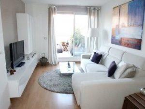 Salas de televisión ideales para casas pequeñas