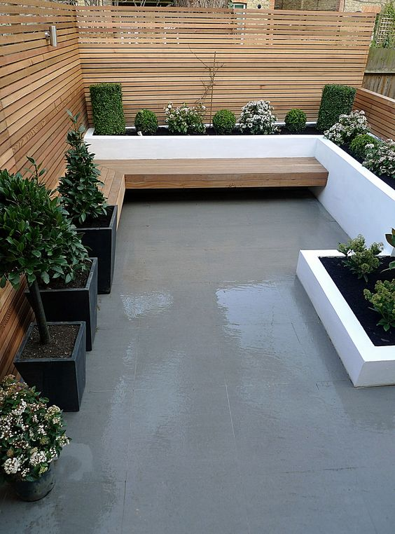 Terrazas patios modernos 26 ideas debes ver cuanto 20 for Decoracion de patios modernos