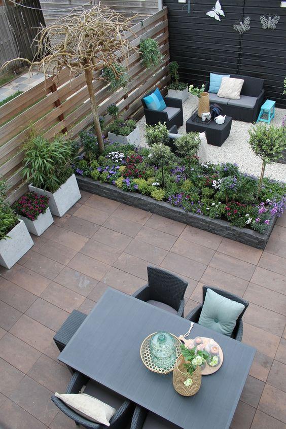 Terrazas y patios modernos