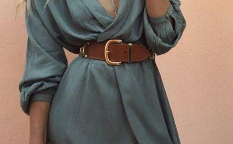 Vestidos cruzados de moda – Patrones y moldes