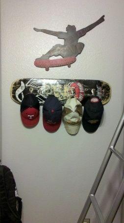 Como organizar las gorras