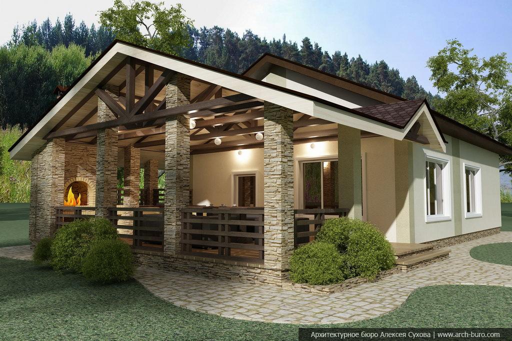 Casas de campo elegantes