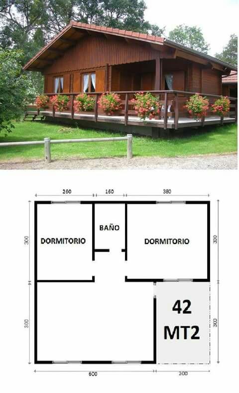 Ideas de una casa de campo para que puedas aprovechar tu for Disenos de casas de campo pequenas