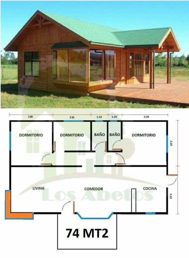 12 casitas ideales para elegir cuando obtengas tu primer - Distribucion casa alargada ...