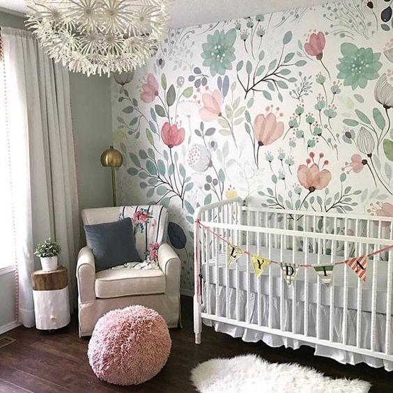 Disenos Para Decorar El Cuarto De Tu Hija Cuando Es Bebe - Ideas-para-decorar-la-habitacin