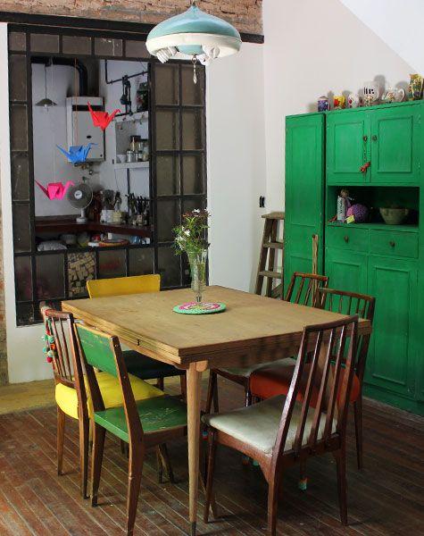 17 ideas de comedores en color mostaza 18 decoracion de - Colores para comedores ...