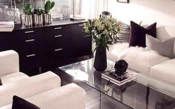 Salas Modernas y Atrevidas en Color Negro… ¡Una Decisión Acertada y Vanguardista!