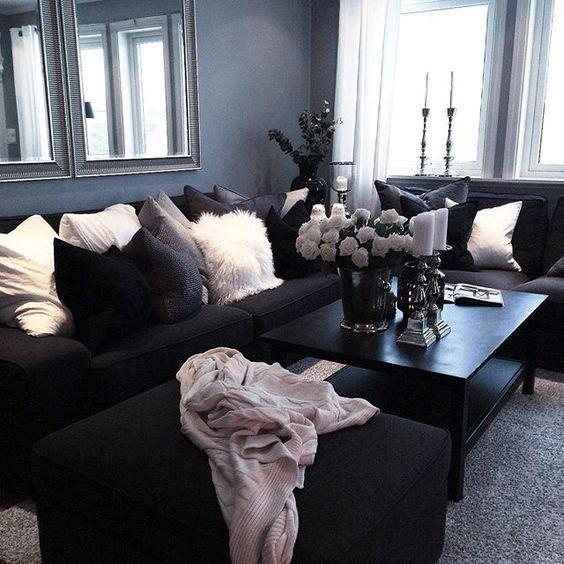 17 Best Ideas About Blue Brown Bedrooms On Pinterest: Ideas Para Decorar La Habitación De Las Salas, Con Color