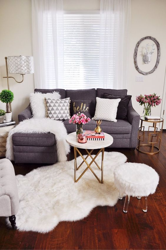 Apartment Decorating On A Budget For Women Living Rooms