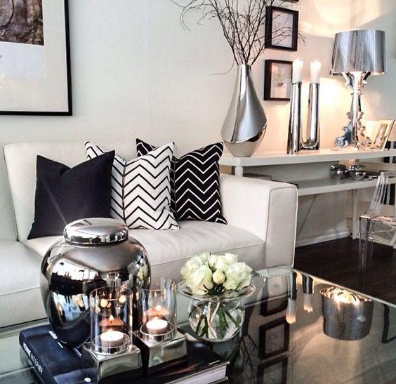 Salas Modernas y Atrevidas en Color Negro