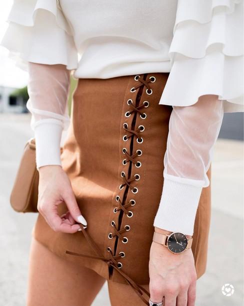 25 Formas diferentes de Combinar Faldas