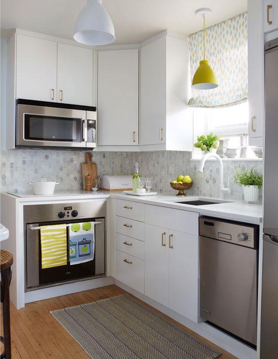 35 ideas para decorar una casa pequena 16 decoracion - Ideas para decorar una cocina pequena ...