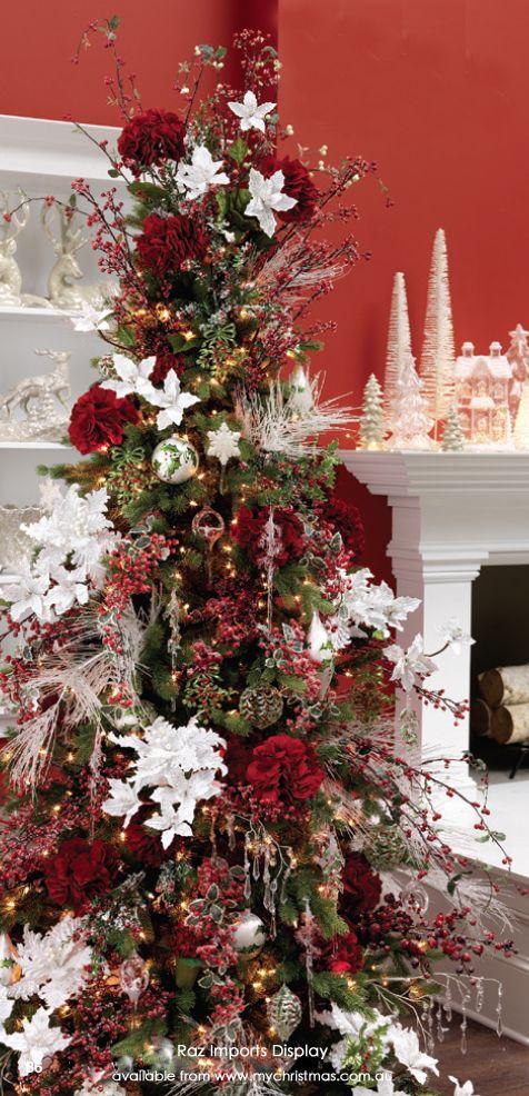 40 maneras decorar pino navideno 21 decoracion de for Decoracion christmas navidenos