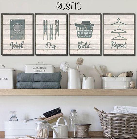 Pinterest Laundry Room Decor: 50-ideas-decorar-cuarto-lavado (26