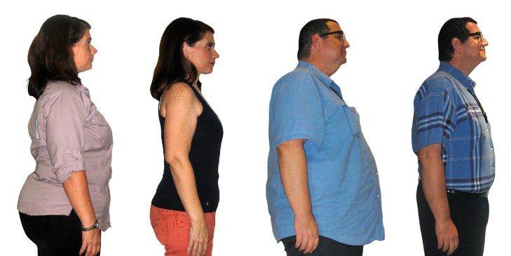 Perdida de peso en 1 mes