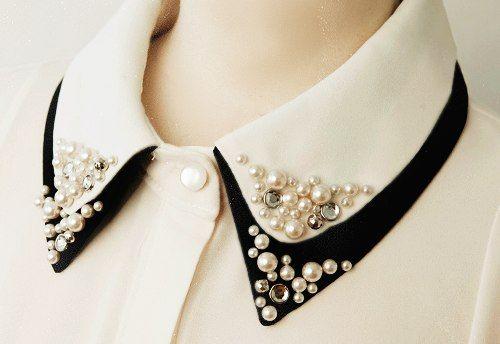 Blusas Con perlas