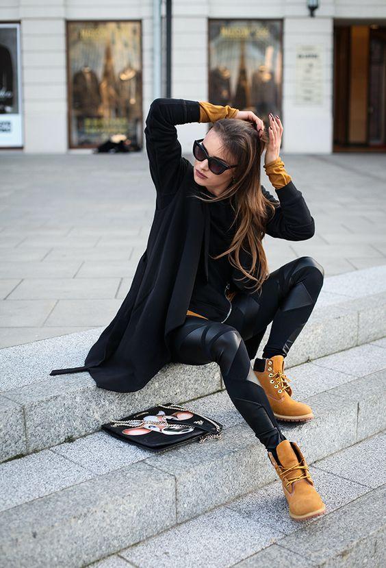 Como combinar botas timberland mujer (5)