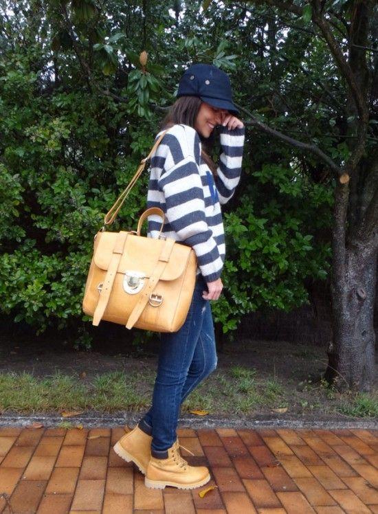 Como combinar botas timberland mujer (8)