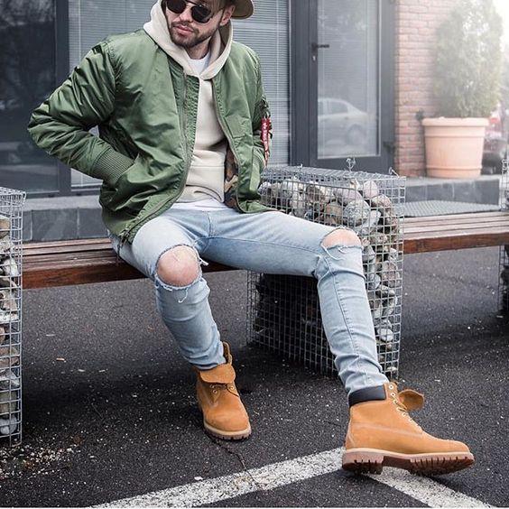 Como combinar zapatos timberland hombre (5)