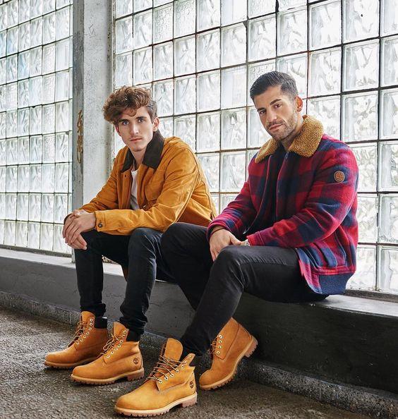 Como combinar zapatos timberland hombre (6)