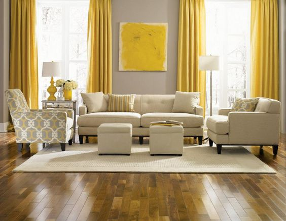 Decoraci N En Tonos Mostaza 17 Hermosas Opciones Para Decorar Tu Sala Con Color Mostaza